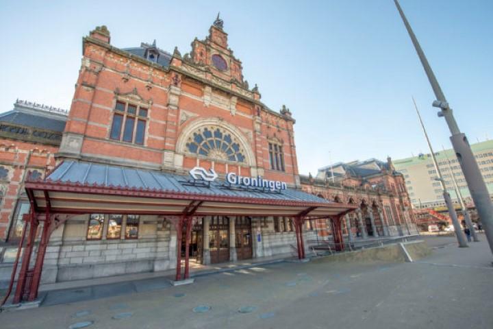Groningen heeft het mooiste station volgens reizigers